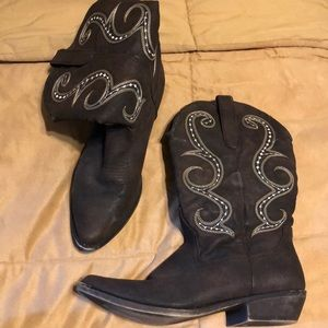 American Rag brown Cowgirl boots